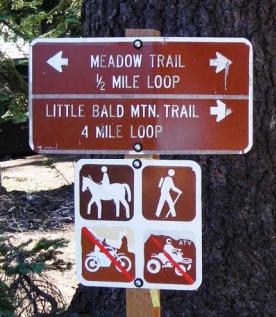 Little Bald Mountain Trail