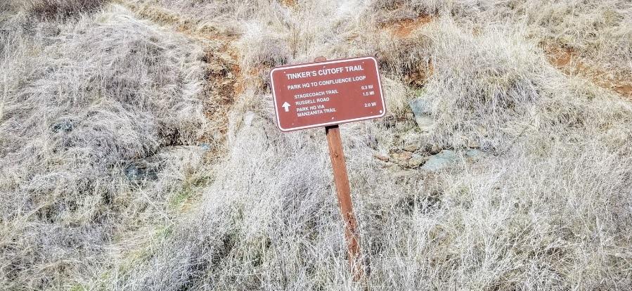 Tinker's Cutoff Trail