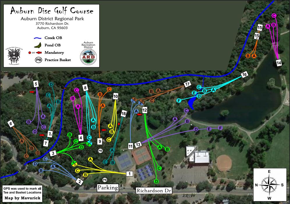 Auburn Disc Golf