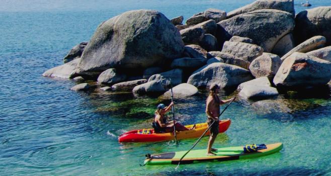 North Tahoe Paddle
